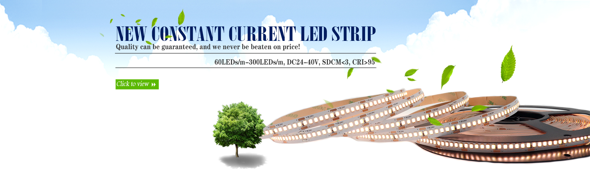 New constant current led strip